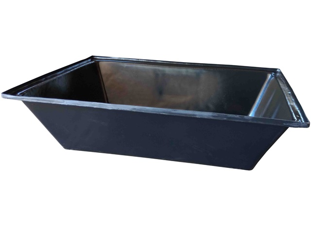 caixa para massa 150 litros preta