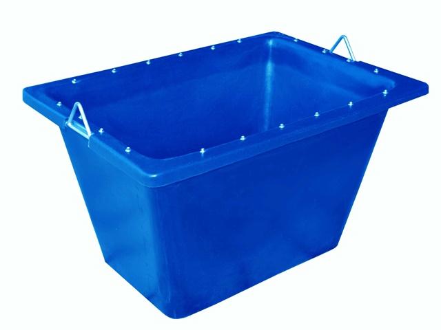 caixa para massa 200 litros com ferragem azul
