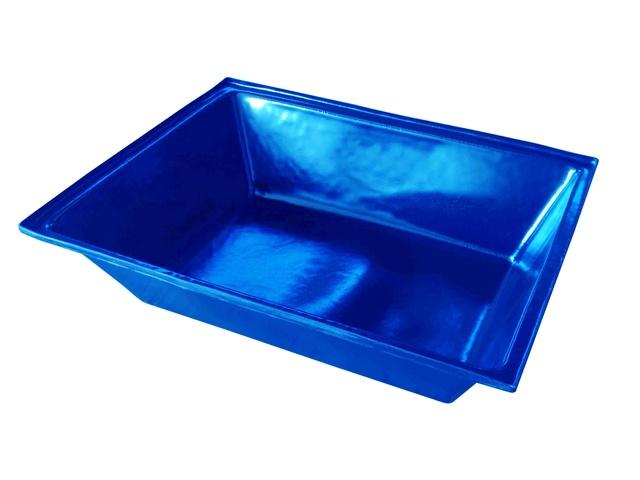 caixa para massa azul 150 litros