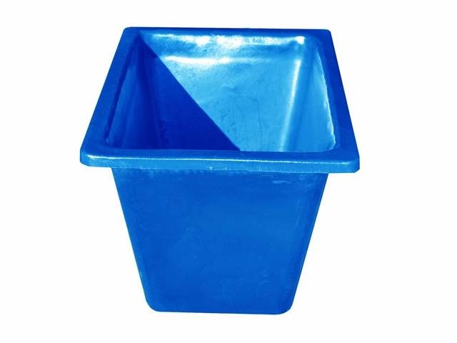 caixa para massa azul 200 litros sem ferragem
