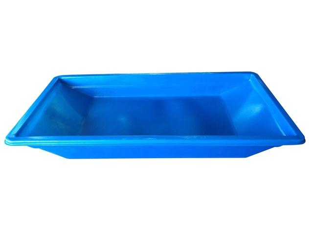 caixa para massa azul 500