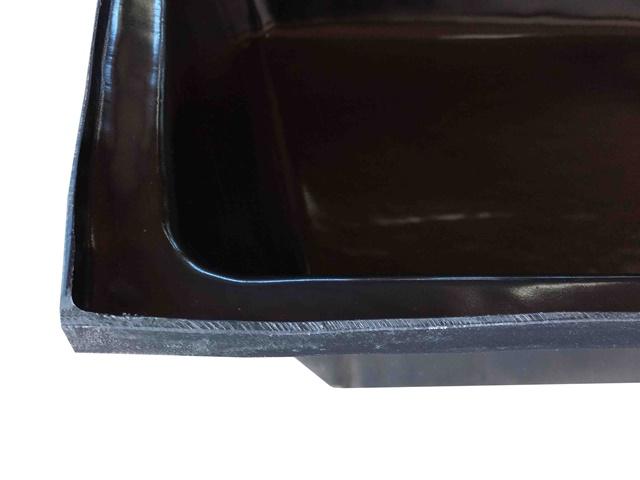 caixa para massa preta 150 litros
