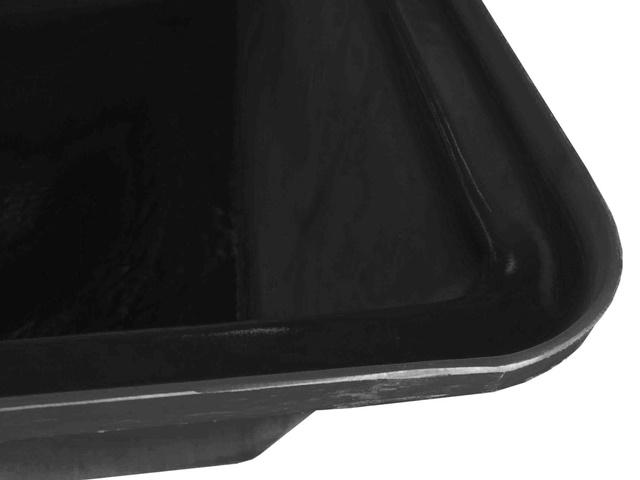 caixa para massa preta 50 litros