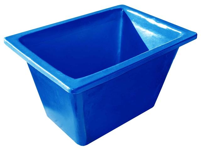 caixa para massa sem ferragem azul 200 litros