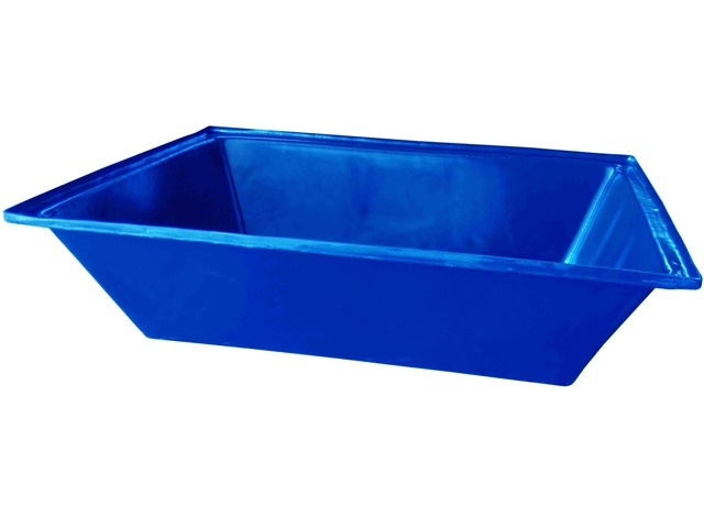 masseira 150 litros azul