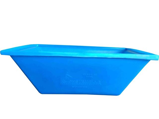 masseira plastica 50 litros azul