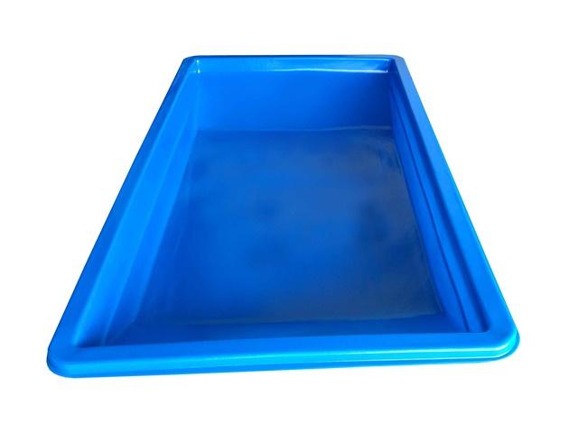 masseira plastica 500 litros azul