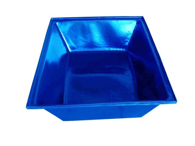 masseira plastica azul 150 litros