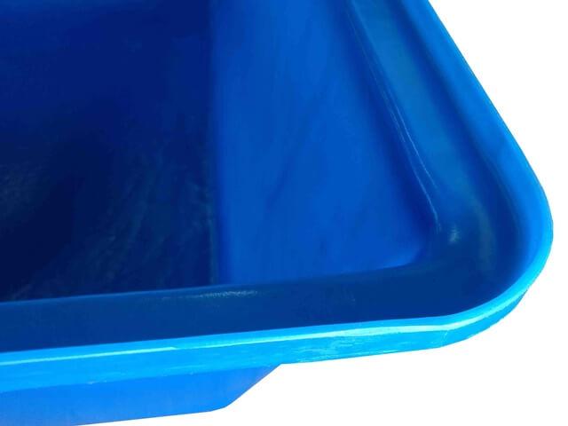 masseira plastica azul 50 litros