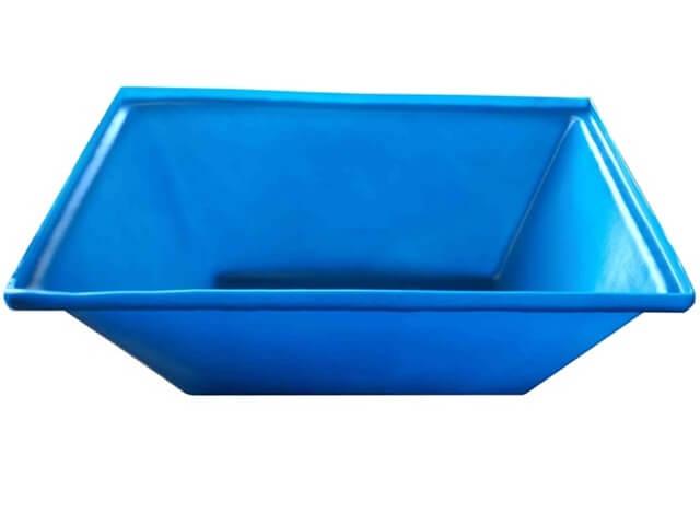 caixa para massa azul 50 litros