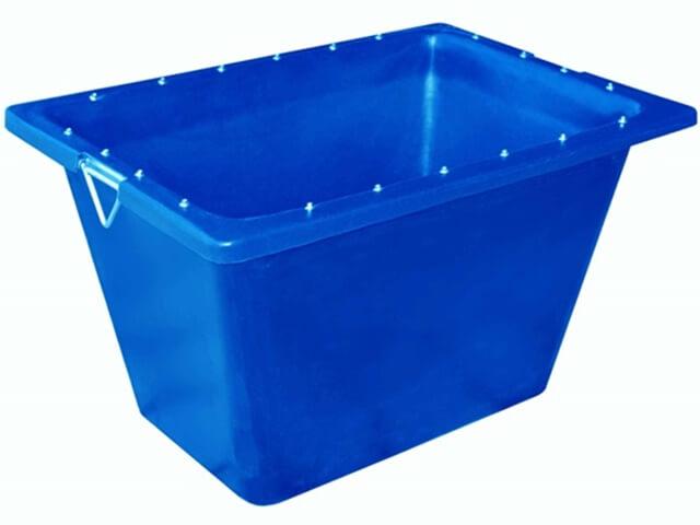 caixa para massa azul com ferragem 200 litros