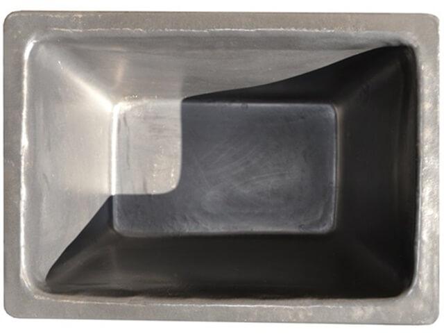 caixa para massa preta 200 litros sem ferragem