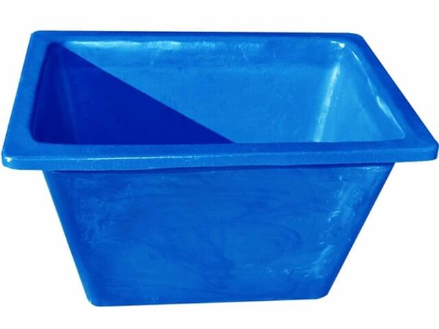caixa para massa sem ferragem 200 litros azul