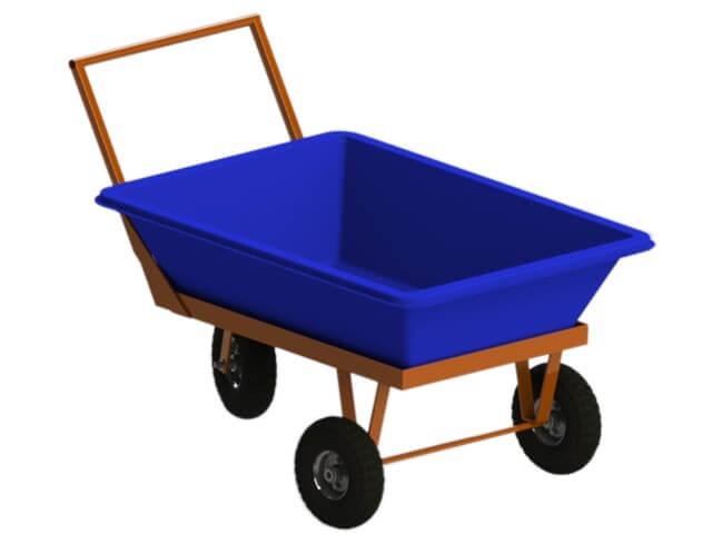 produto carrinho para massa 150 litros