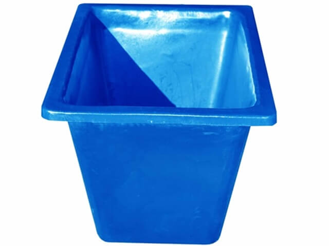 caixa argamassa azul 200 litros sem ferragem