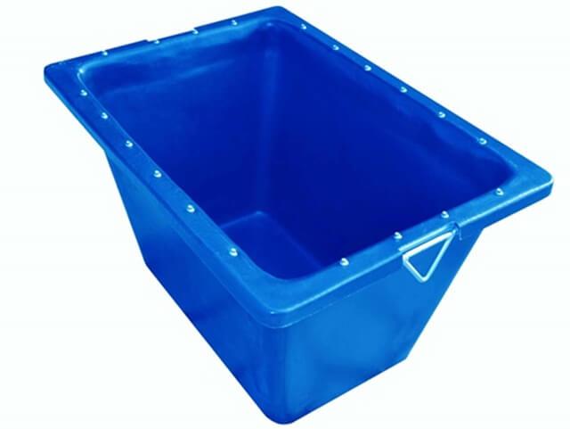 caixa argamassa com ferragem azul 200 litros