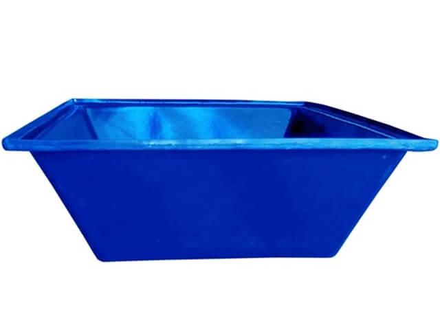 caixa argamassa cor azul 150 litros